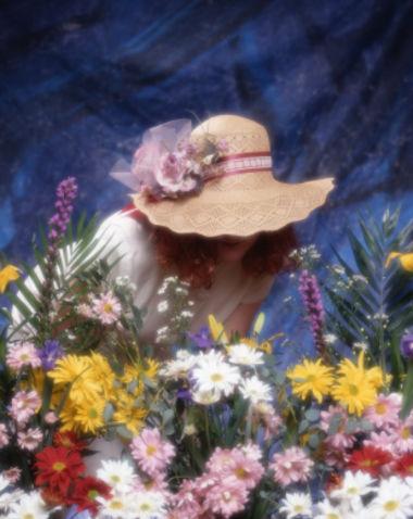 fiori cappello